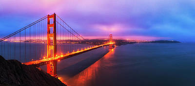 Photograph - Bridgemade Sunrise 32x72 by Ryan Moyer