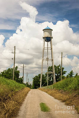 Photograph - Bridgeport Water Tower  by Imagery by Charly