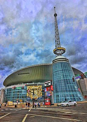 Photograph - Bridgestone Arena - Nashville by Allen Beatty