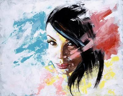 Painting - Bridgette by Konni Jensen
