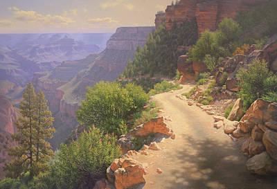 Painting - Bright Angel Morning by John Cogan