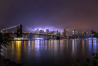 Brooklyn Photograph - Bright Lights Of New York II by Nicklas Gustafsson
