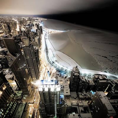 Illinois Photograph - Bright Night by Jnhphoto