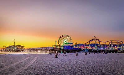 Photograph - Bright Sunset by Gene Parks