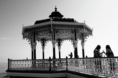 Photograph - Brighton Bandstand by Aidan Moran