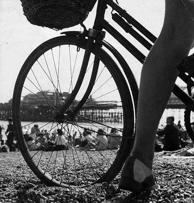 Photograph - Brighton Beach by Erich Auerbach
