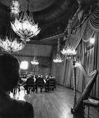 Photograph - Brighton Pavilion Concert by Erich Auerbach