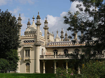 Photograph - Brighton Royal Pavilion 1 by Richard Reeve
