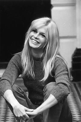 Celebrity Photograph - Brigitte Bardot by Cattani