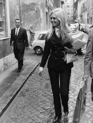 Photograph - Brigitte Bardot by Keystone