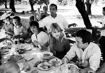 Photograph - Brigitte Bardotlouis Malle by Ralph Crane