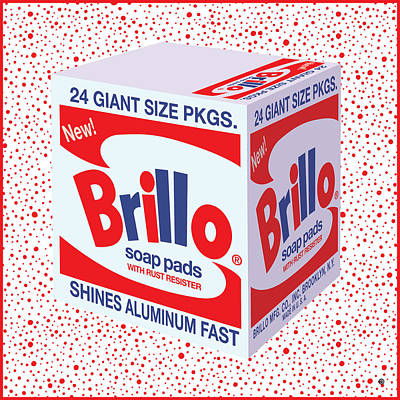 Digital Art - Brillo Box by Gary Grayson