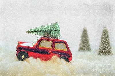 Photograph - Bringing Christmas Home by Juli Scalzi