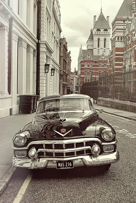 Photograph - British Caddy by JAMART Photography