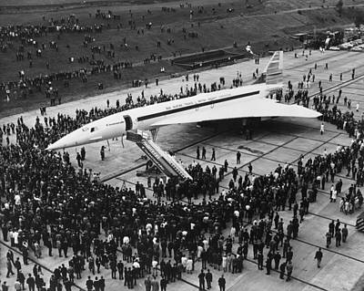 Photograph - British Concorde by Fox Photos