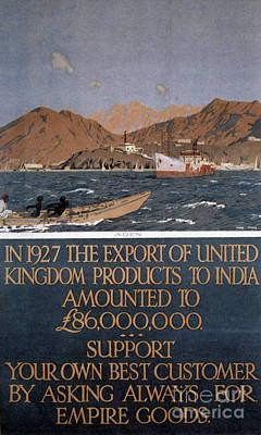 Photograph - British Empire India Poster by Granger