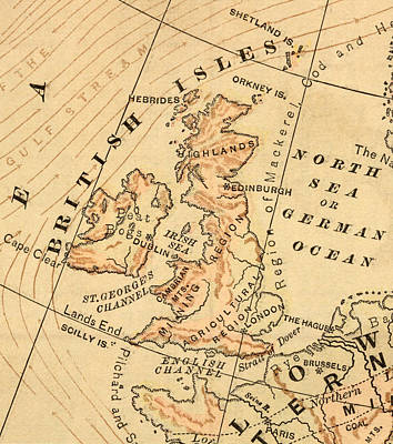 Photograph - British Isles by Belterz