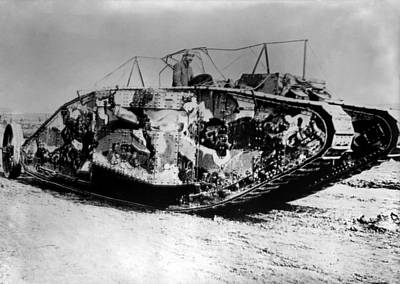 Sheep - British Mark I Tank - France - 1916 by War Is Hell Store