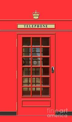 Royalty-Free and Rights-Managed Images - British Red Phone Box with Big Ben by John Edwards