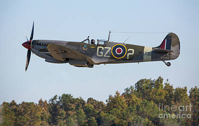 Photograph - British Spitfire Fighter Aircraft  by Kevin McCarthy