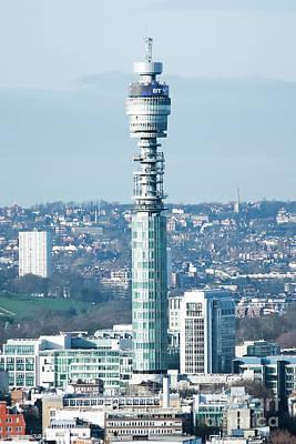 Photograph - British Telecom Tower London by Terri Waters