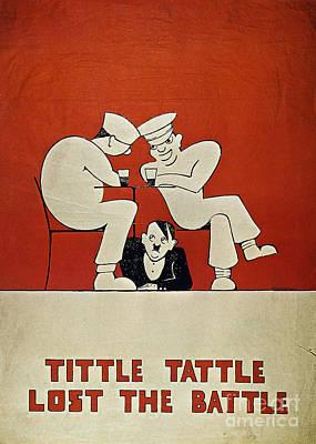 Photograph - British World War II Poster by Granger
