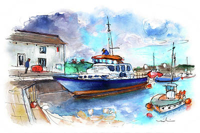Painting - Brixham 03 by Miki De Goodaboom
