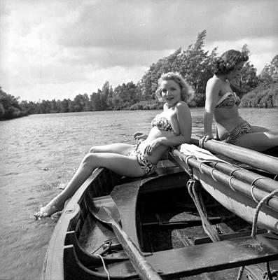 Recreational Boat Photograph - Broads On Board by John Drysdale