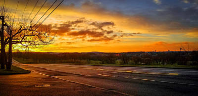 Photograph - Broadway Sunrise by Jason Fink