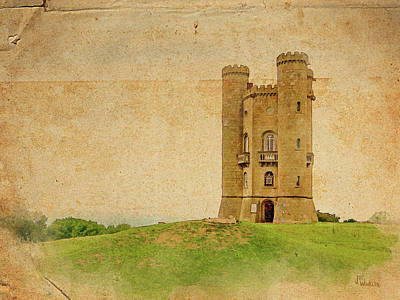 Digital Art - Broadway Tower by Joe Winkler