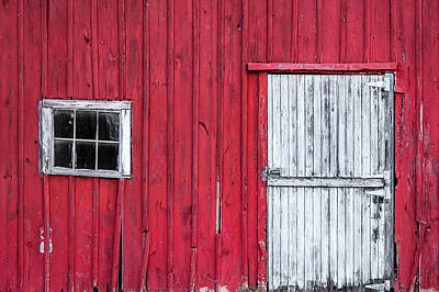 Photograph - Broken Barn Boards by Todd Klassy