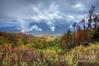 Photograph - Broken Clouds by Dan Carmichael