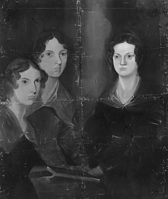 Bronte Sisters Art Print by Rischgitz