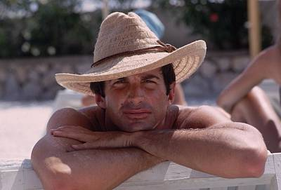 Photograph - Bronzed Actor by Slim Aarons