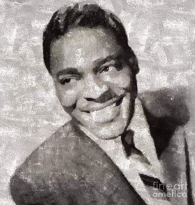 Music Paintings - Brook Benton, Music Legend by Esoterica Art Agency