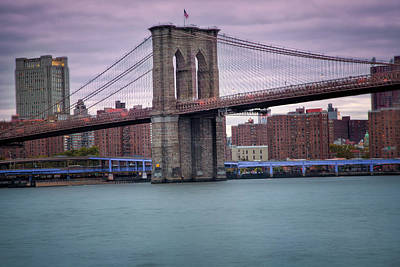 Photograph - Brooklyn Bridge by Jacqui Boonstra