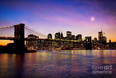 Photograph - Brooklyn Bridge by Scott Kemper