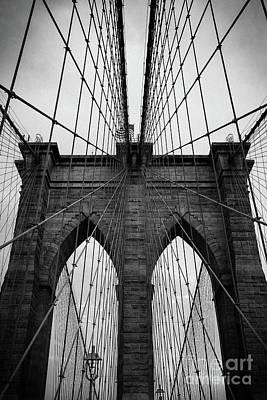 Photograph - Brooklyn Bridge Wall Art by Andy Myatt