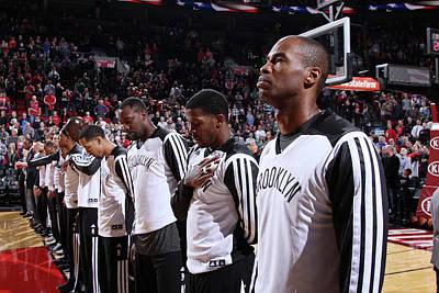 Photograph - Brooklyn Nets V Portland Trail Blazers by Sam Forencich