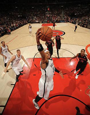 Photograph - Brooklyn Nets V Toronto Raptors by Ron Turenne
