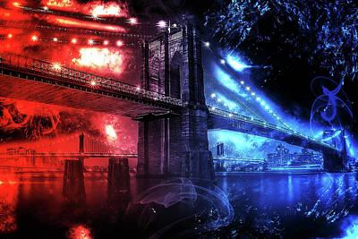 Painting - Brooklyn Nights by Andrea Mazzocchetti
