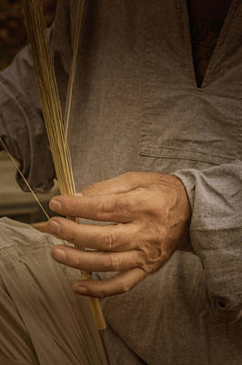 Photograph - Broom  Maker by Guy Whiteley