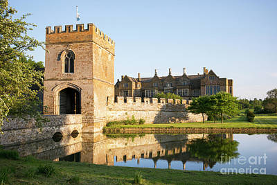 Photograph - Broughton Castle Oxfordshire by Tim Gainey