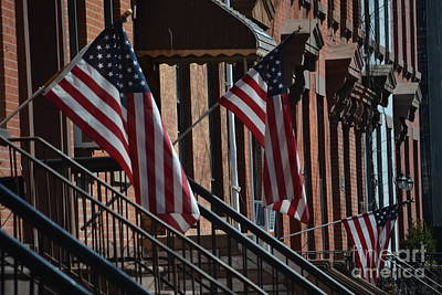 Photograph - Brownstone Flags by Anthony Butera