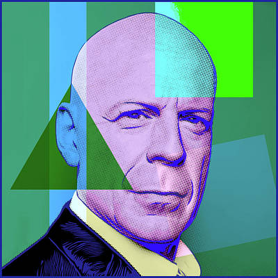 Digital Art - Bruce Willis by Gary Grayson