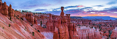 Bryce Canyon Np - Helluva Place To Lose A Cow Art Print