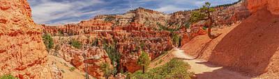 Bryce Canyon Np - Peek-a-boo Canyon Art Print