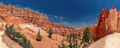 Bryce Canyon Np - Walls, Windows And Hoodoos, Oh My Art Print