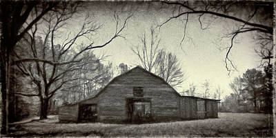 Photograph - Gary's Barn 0648 by Barry Styles