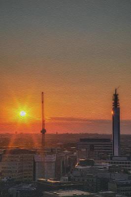 Photograph - Bt Portrait Sunset No 2 by Chris Fletcher